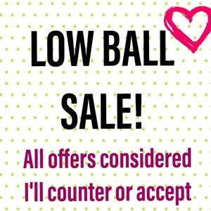 💕 LOW BALL SALE!💕